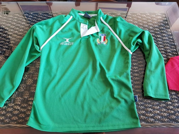 Vintage italy rugby gilbert shirt