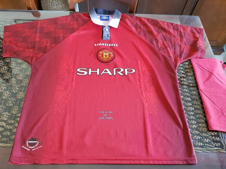 90c6193a905 1996 Man utd UMBRO jersey very rare