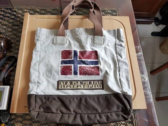 90s vintage napapijri bag