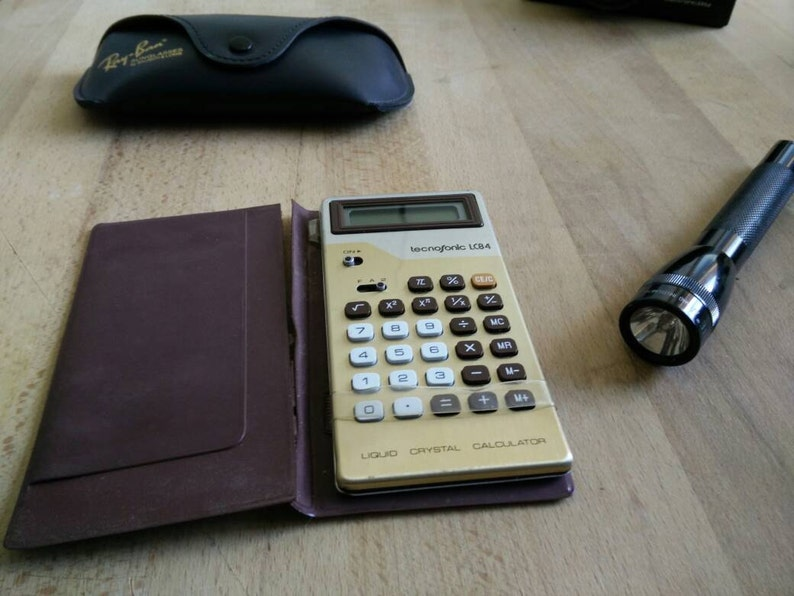 1971 vintage calculator ROYAL MODEL SPECIAL, made in Japan! perfectly  working