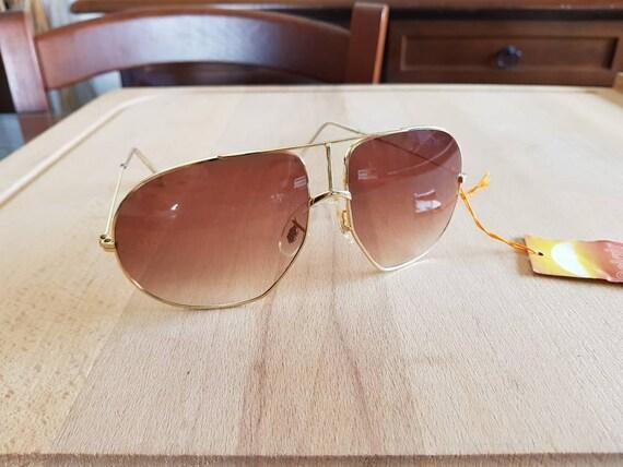 80s NOS Solgir aviator made in italy sunglasses