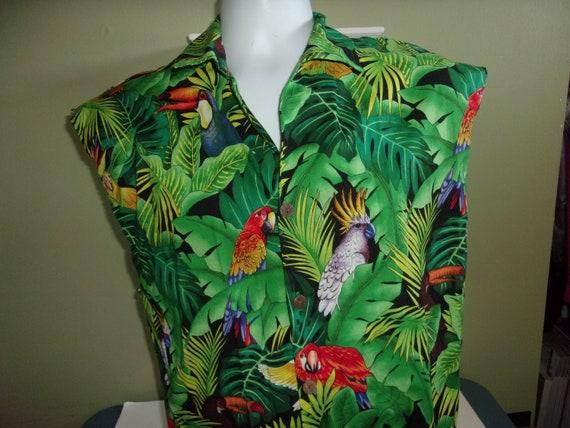 Men's Swim Cabana Set Shirt & Trunks Board Shorts