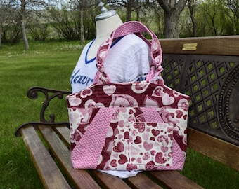 Gifts for Her Woman/'s Fabric Handbag Crossbody Purse Diaperbag Western Bow Tucks Tote Bag lots of pockets