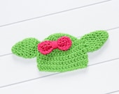 Yoda Inspired Hat, Girl Yoda Hat, Yoda Baby Costume, Crochet Baby Hat, Girl Yoda Set, Yoda Costume, Newborn Yoda Hat, Newborn Photo Prop