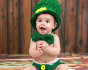 Leprechaun baby hat  903a1f715f6
