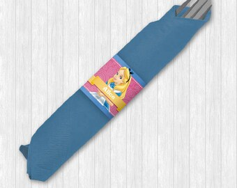 Alice in Wonderland Napkin Ring