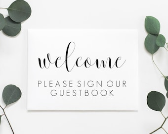 Please Sign Our Guestbook Printable. Please Sign Our Guest Book. Please Sign Our Guestbook Sign. Wedding Guest Book Sign. Guestbook Sign.