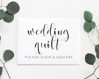 Wedding Quilt Guestbook Printable. Wedding Quilt Guest Book Sign. Wedding Quilt Guest Book Printable. Wedding Quilt Sign. Quilt Printable.