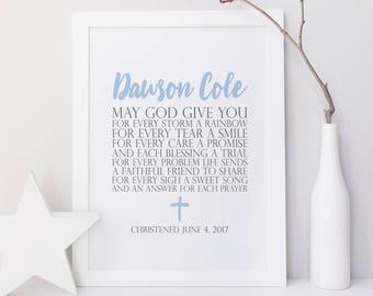 Personalized Baptism Gift. Baby Dedication Gift. Baptism Printable. Baby Girl Baptism. Baby Boy Baptism. Child Dedication. Baby Gift. Prayer