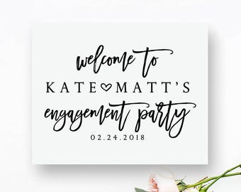 party signs etsy