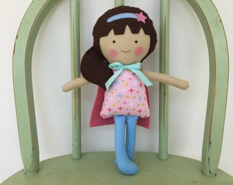 Girl Super Hero Doll, Perfect for Imaginative Play!