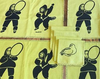 Inuit Print Placemats & Napkins