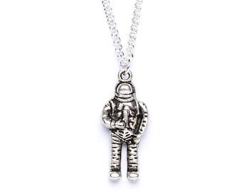 Astronaut Necklace | Spaceman Necklace | Space Jewellery | Astronaut Jewellery