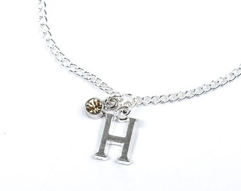 Initial Bracelet | Beaded Initial Bracelet | Initial Jewellery | Personalised bracelet | Personalised Gift