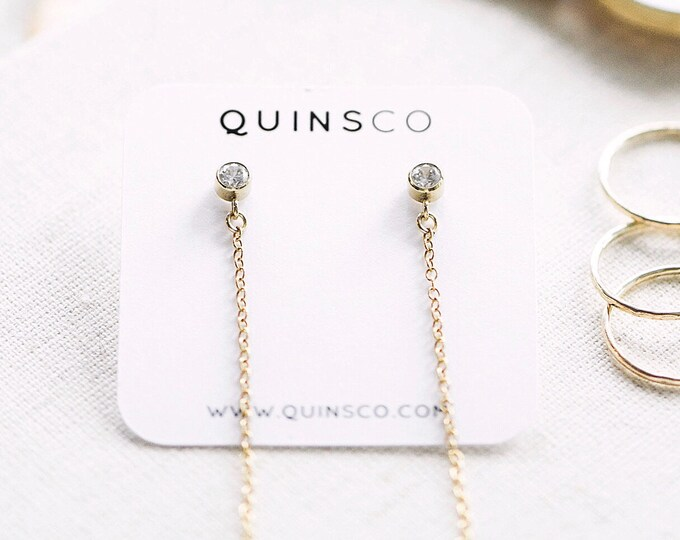 The [ A L I C I A ] Earrings (14k Gold-filled)