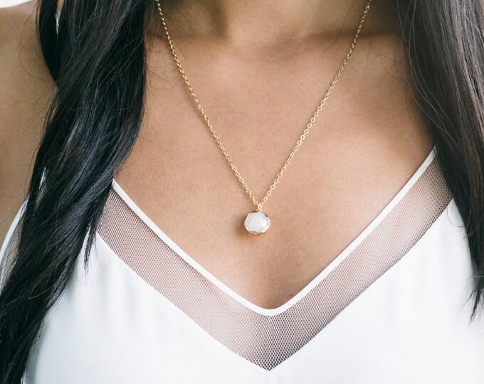 The [ Z O E ] Necklace - 4 Color Options