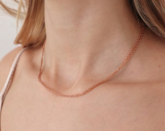 GISELLE Choker (Rose Gold)