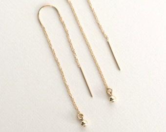APRIL Threader Earrings