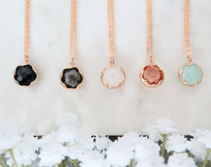 The ZOE Necklace (Multiple Colors)