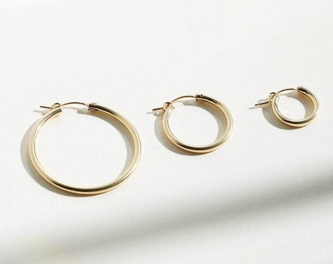 Featured listing image: NAOMI Hoop Earrings