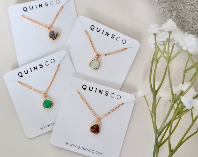 The KRISTEN Necklace (Multiple Colors)