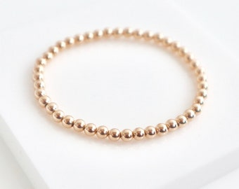 Gold SARAH Stretch Bracelet