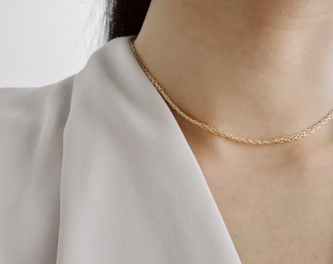 The GISELLE Choker (Gold-filled or Rose Gold-filled)
