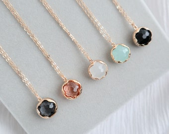 ZOE Necklace (Multiple Colors)