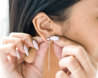 The [ A L I C I A ] Earrings (Sterling Silver)