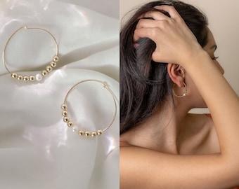 NOOR Hoop Earrings