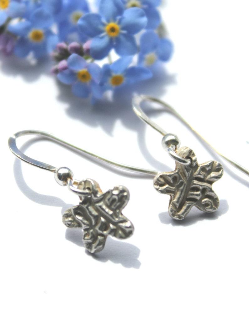 bed7e7867 Silver star earrings tiny stars earrings minimalist | Etsy