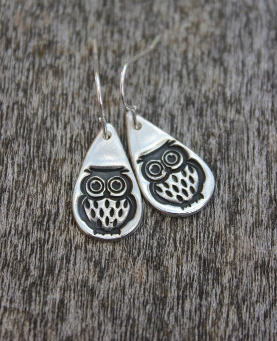Graduation earrings, owl earrings, teacher earrings, teacher jewellery