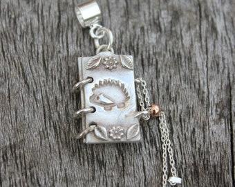 Book charm bracelet, book jewellery, book lover gift, keepsake jewellery, keepsake charm, reader gift