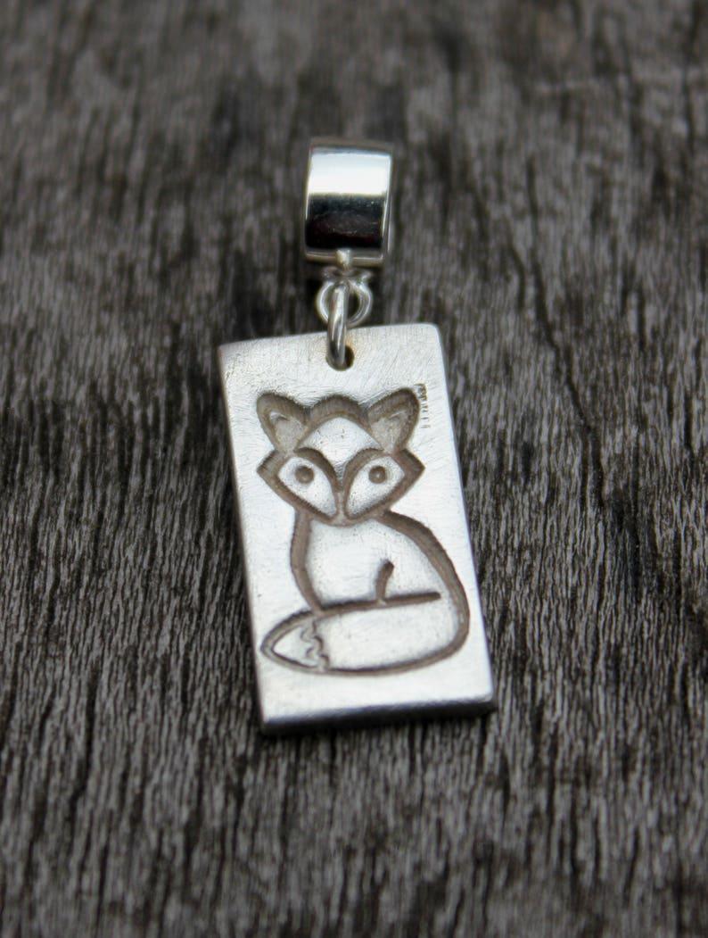 red fox pendant Fox pendant fox necklace silver fox pendant fox lover gift fox jewelry woodland pendant