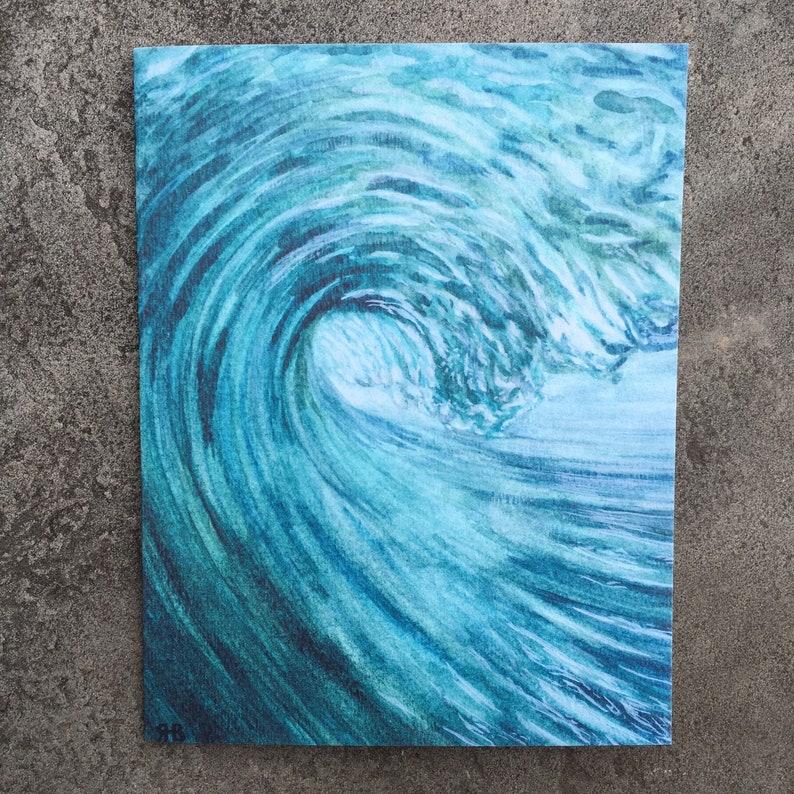 Wave Greeting Card Set