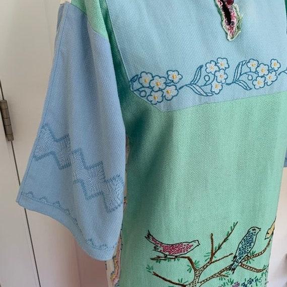 Vintage Embroidered Dress - image 8