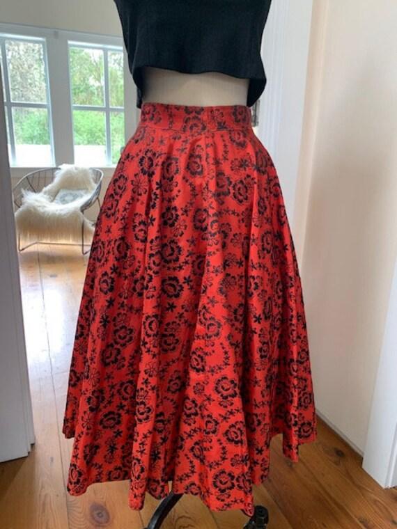 50's Vintage Circle Skirt