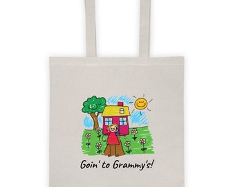 Goin' to Grammy's! Tote bag