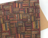 Square Stitch THICK Cork Fabric 1.0MM