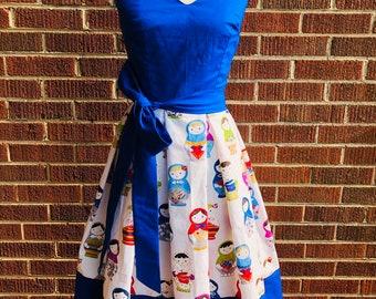 Russian Doll Matroyshka Dress