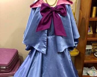 Retro Pinup Fairy Godmother Dress & Cape