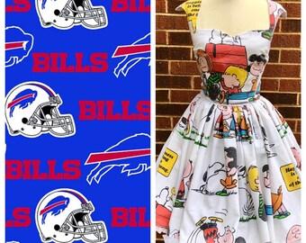 Ariene Dress in Bills Fabric