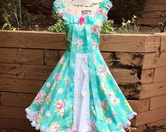 Princess Giselle Floral Dress