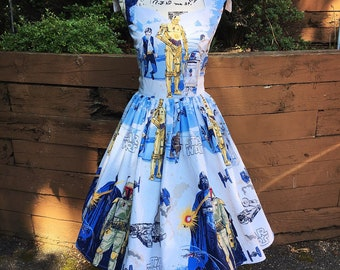 Ariene Dress from Vintage 1979 Star Wars Empire Strikes Back Sheets