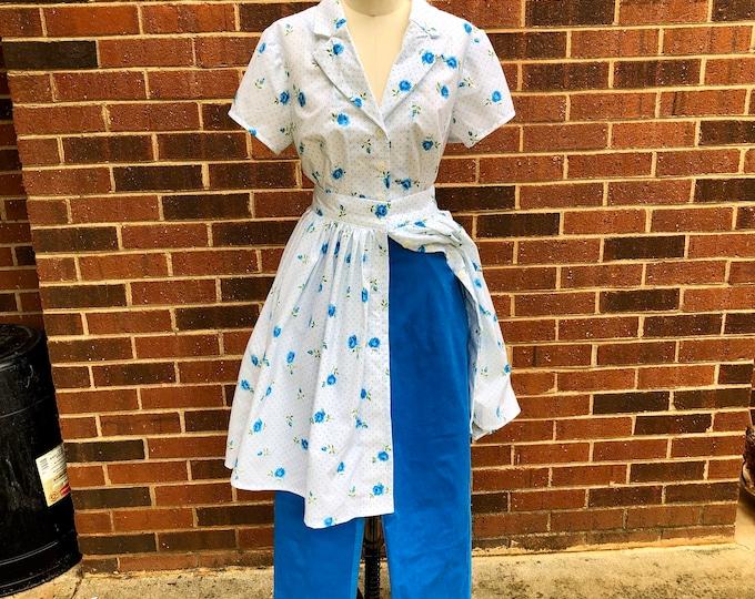 3 Piece Bernadette Pinup Housewife Hostess Set with Top, Skirt, & Pants