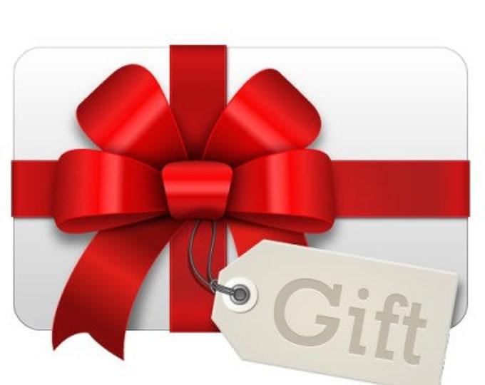 Button Button Retro Gift Certificate