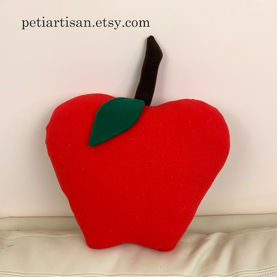 Apple Shaped Pillow Apple PillowGreen