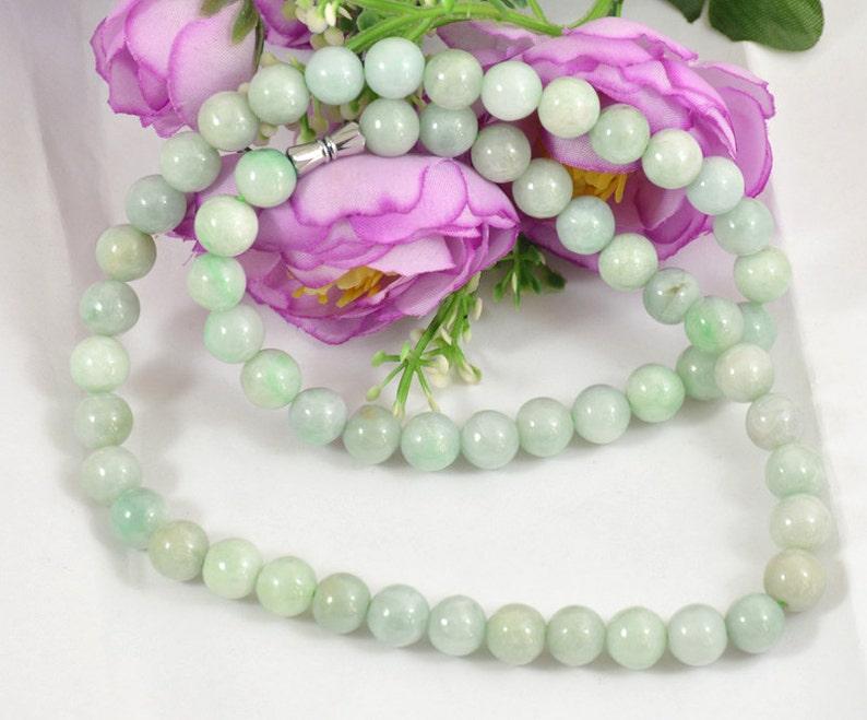 ce50484c830b 18 85 mm encanto Natural Esmeralda redonda perlas