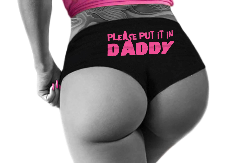 Daddy Wearing Panties Images