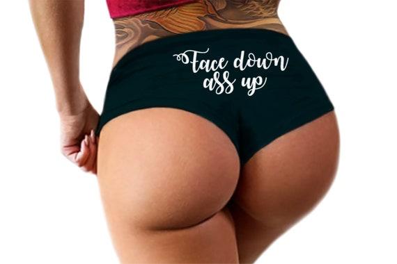 Ass up thong
